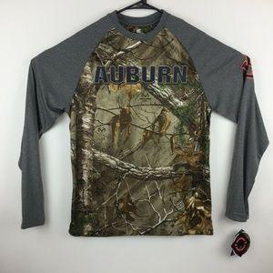 Auburn Tigers Mens Long Sleeve Camo T-Shirt
